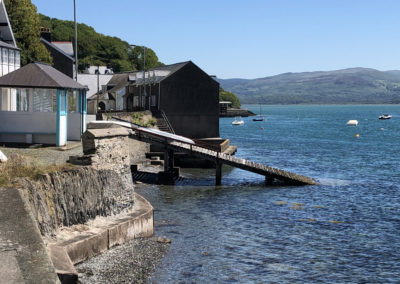 The Old Lifeboat Slipway, Cliffside, Aberdovey