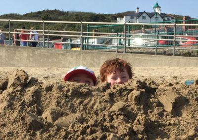 Fun in the Sun, Aberdovey Beach