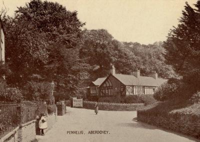 Black and white photo - Penhelig, Aberdovey
