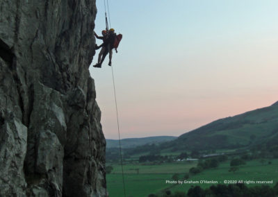 Aberdovey Search & Rescue Team (SaRT), Technical Rescue - Photo by Graham O'Hanlon ©2020