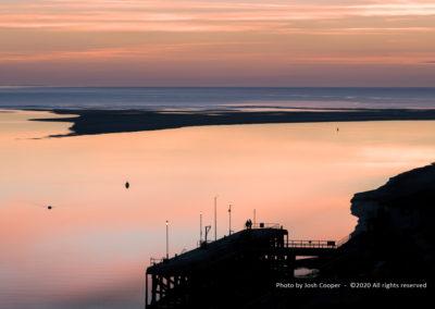 Aberdovey Jetty, Dyfi Estuary - Photo by Josh Cooper ©2020