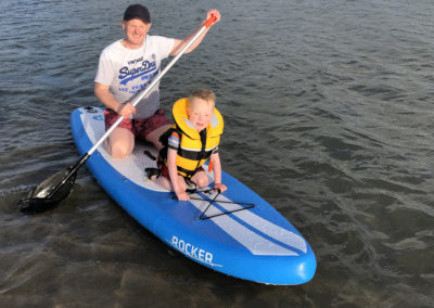Paddleboarding on the Dyfi Estuary, Aberdovey