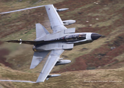 Tornado GR4 flying the Mach Loop, Nr Aberdovey - Images available to purchase at AviScape.co.uk