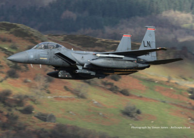 F15 low level flying, Nr Aberdovey - Images available to purchase at AviScape.co.uk