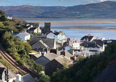 View of Aberdovey and the Dyfi Estuary from Bryniau Uchaf